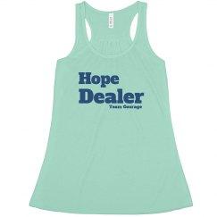Hope Dealer Flow Tank Block Letters