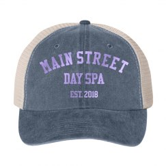 Main Street EST 2018 Cotton Twill Snapback Trucker Hat