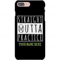 Straight Outta Softball Case