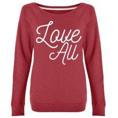 Love All Slouchy Sweatshirt