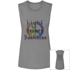 Light Trumps Darkness Muscle T