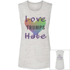 Love Trumps Hate Muscle T