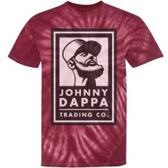 Johnny Dappa Trading Co. Tie-Dye Vertical Logo Shirt
