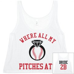 Custom Baseball Bachelorette Party Jerseys