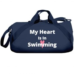 My heart is in swimming