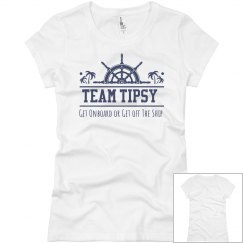 Team Tipsy Ladies Fit Tee