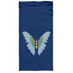 Blue and Pink Butterfly