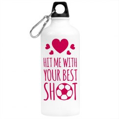 Soccer Girl Water Bottle