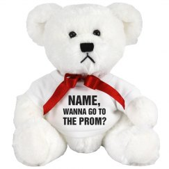 Custom Name Prom Bear Question