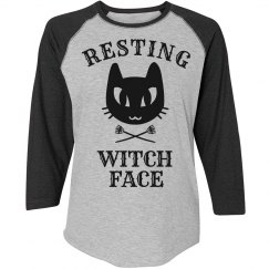 Halloween Resting Witch Face