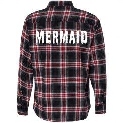 Mermaid Melt Flannel