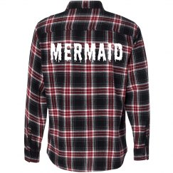 Mermaid Melt Flannel