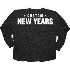 Custom Glitter New Years