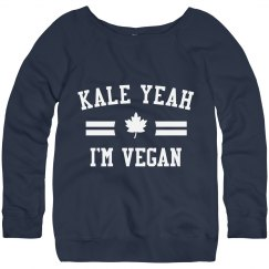 Cute Kale Yeah I'm Vegan