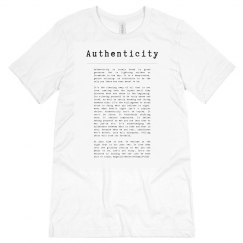 Authenticity white