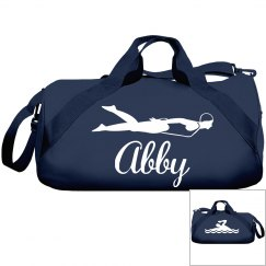 Abby's swim bag