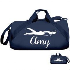 Amy's swim bag