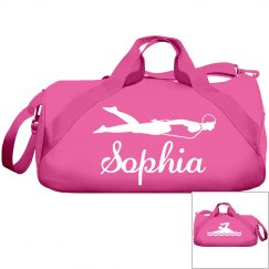 Sophia's swimming bag