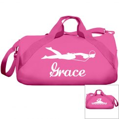 Grace's swimming bag