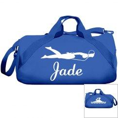 Jade's swimming bag