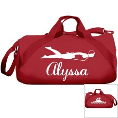 Alyssa's swimming bag