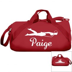 Paige's swimming bag