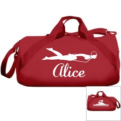 Alice's swimming bag