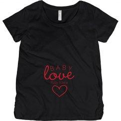 Custom Baby Valentine's Maternity