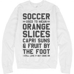 Youth Soccer Golden Day Snacks
