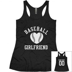 Baseball Girlfriend Tanks With Customizable Backs!