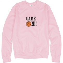Basketball Game On Sweatshirt pk