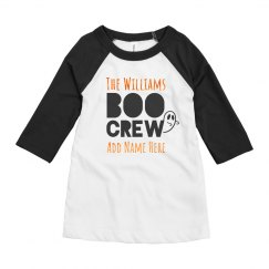 Custom Name Family Matching Boo Crew