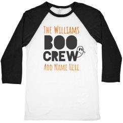 Dad's Matching Boo Crew Halloween