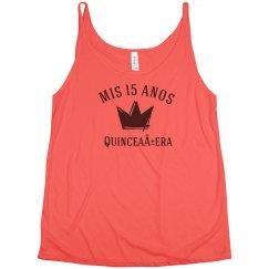 Customizable Quinceanera Shirt