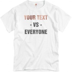 Your Opal Rose Text VS Everyone