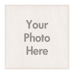 12 x 12 Wood Photo Board Beveled Edge
