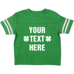 Make A Custom St. Patty's Day Tee