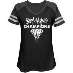 Women's Remaking Champs V- Neck