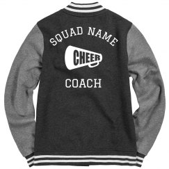 Custom Cheer Squad Name Coach