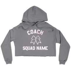 Custom Cheerleading Coach Trendy Crop