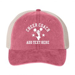 Add Your Cheer Squad Name Coaches Hat