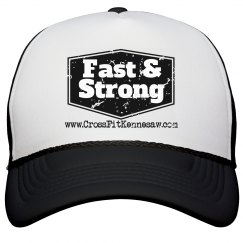 Fast and Strong Black snap back