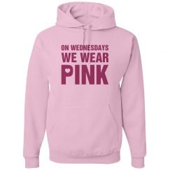 Wednesday Wear Pink Hoodi