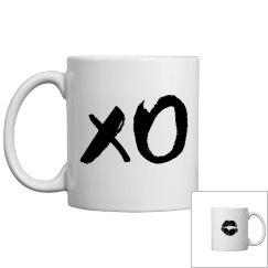 X O Kiss And Hug Mug