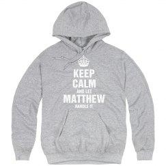 Let matthew handle it