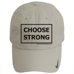 Choose Strong Golf Cap
