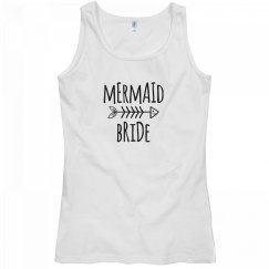 Mermaid Bride Tank Top