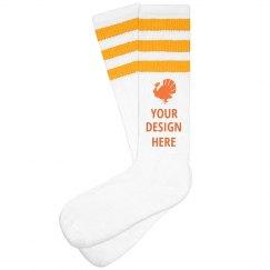 Create Your Own Turkey Trot Socks