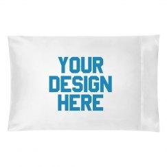 Customize A Pillowcase Metallic