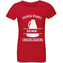 Personalized Georgia Sparks All Star Cheerleaders T